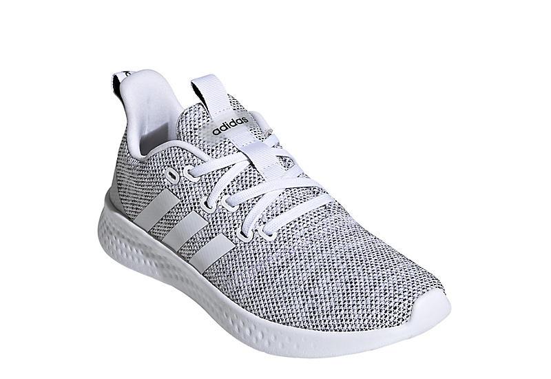 WHITE ADIDAS Womens Puremotion Sneaker