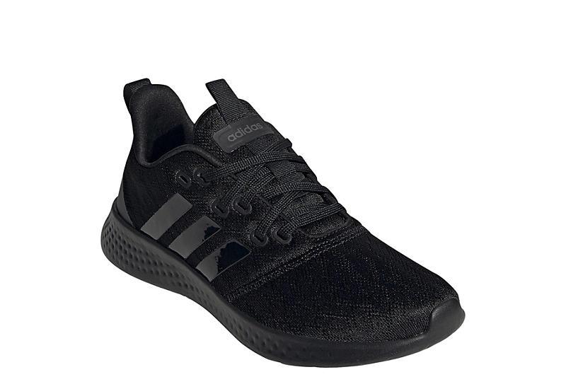 BLACK ADIDAS Womens Pure Motion Sneaker