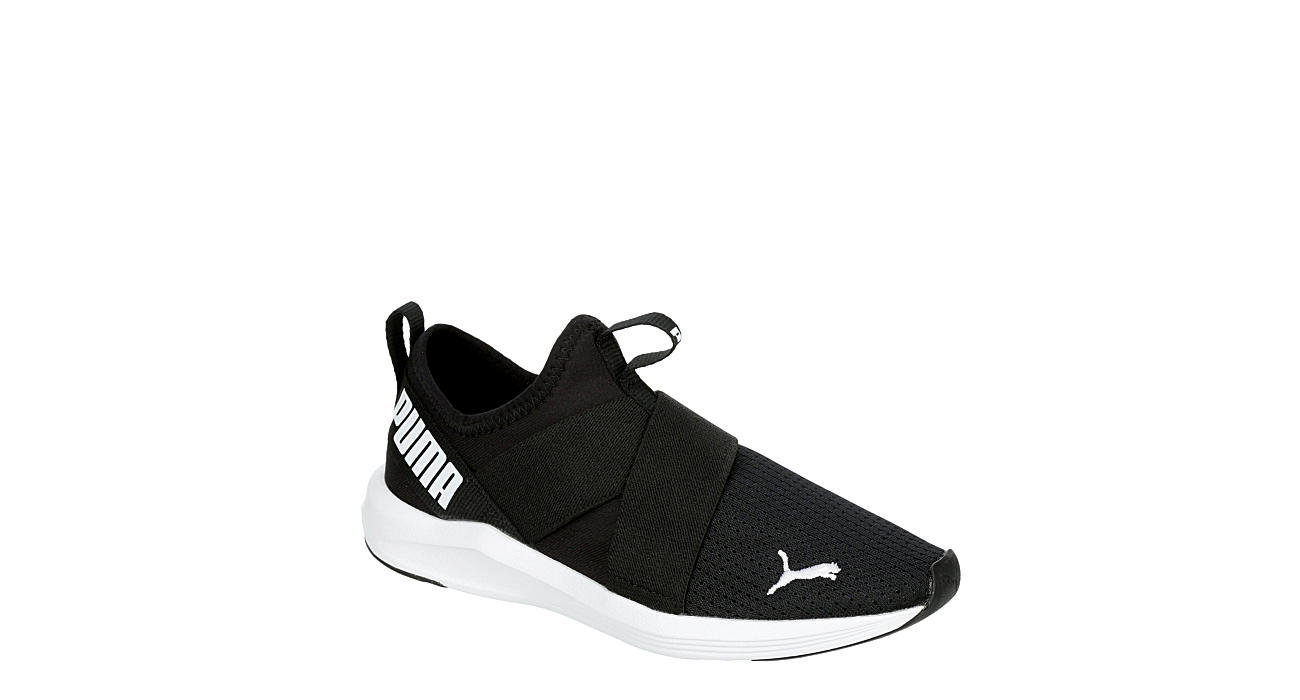 PUMA Womens Prowl Slip-on Sneaker - BLACK