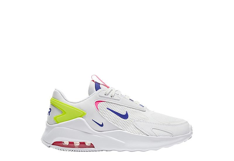 WHITE NIKE Womens Air Max Bolt Sneaker
