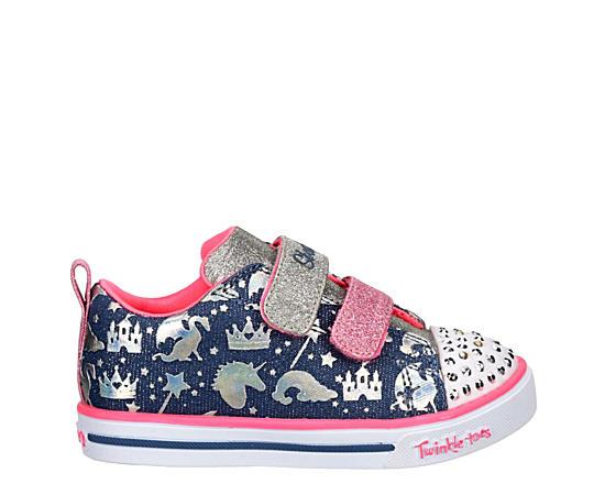 Girls Infant Twinkle Toes Sparkle Lite Light Up Sneaker