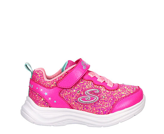 Girls Infant Glimmer Kicks Light Up Sneaker