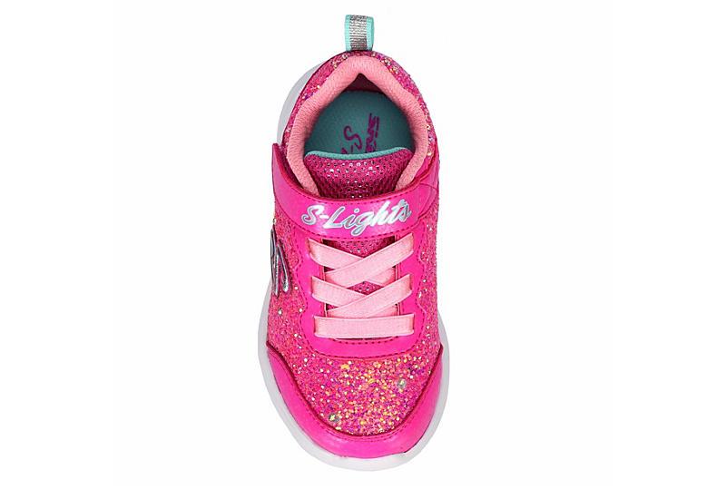 SKECHERS Girls Glimmer Kicks - PINK