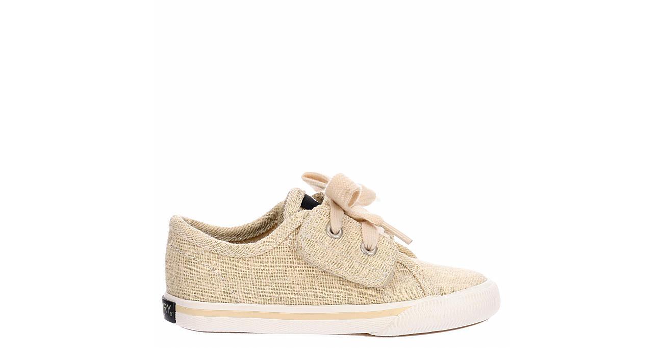 SPERRY Girls Infant Lounge Ltt Jr Sneaker - GOLD