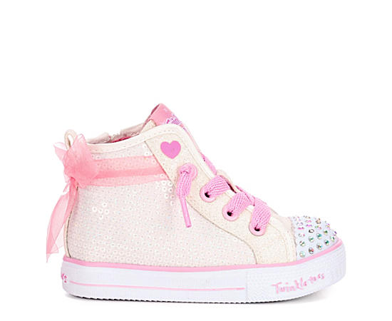 Girls Infant Twinkle Toes Shuffle Lite Light Up Sneaker