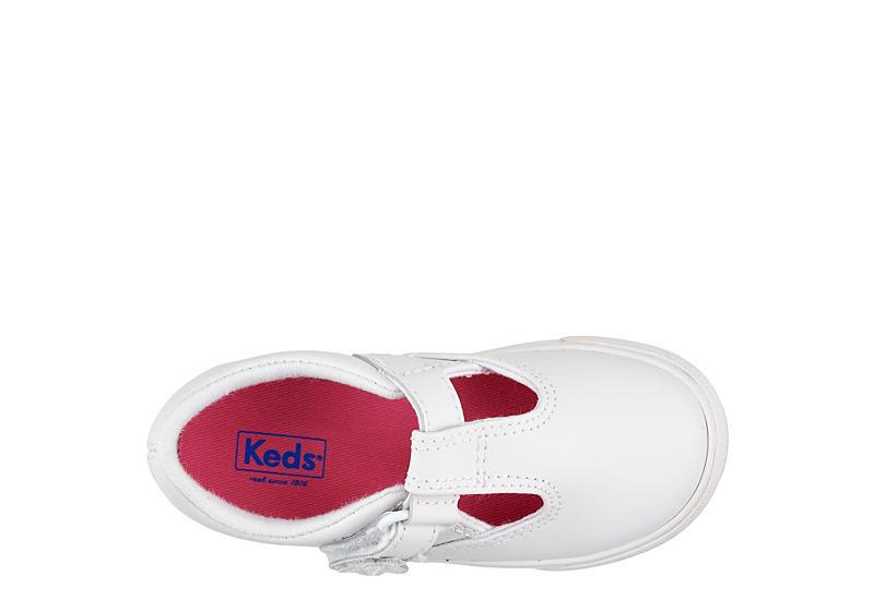 KEDS Girls Infant Daphne Slip On Sneaker - WHITE