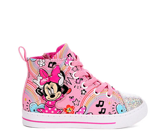Girls Infant  Minnie Hi Top
