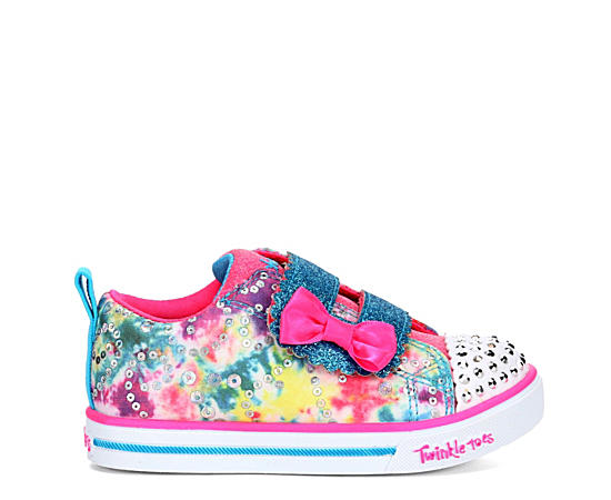 Girls Infant Twinkle Toes Sparkle Lite - Rainbow Cuties