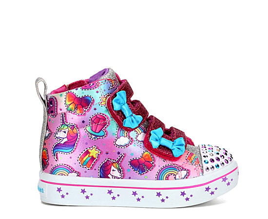 Girls Infant Twinkle Toes Twi-lites - Mini-mojis