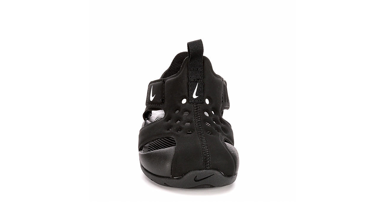 NIKE Boys Infant Sunray Protect 2 Outdoor Sandal - BLACK