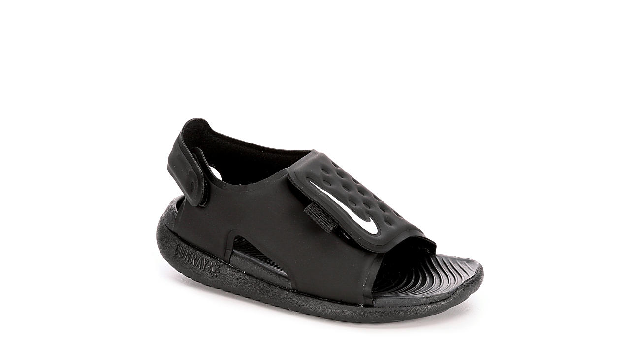 NIKE Boys Sunray Adjust - BLACK