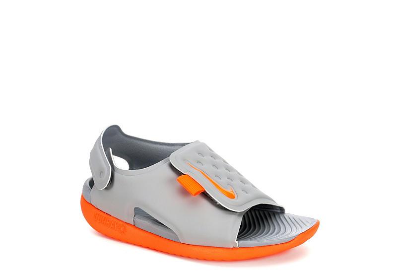 309a86101 Nike Boys Infant Sunray Adjust - Grey