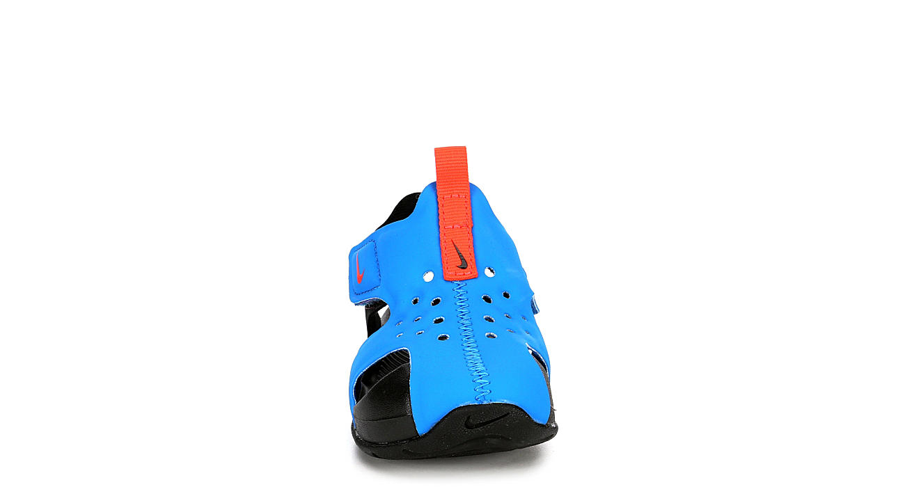 NIKE Boys Infant Sunray Protect 2 Outdoor Sandal - BLUE