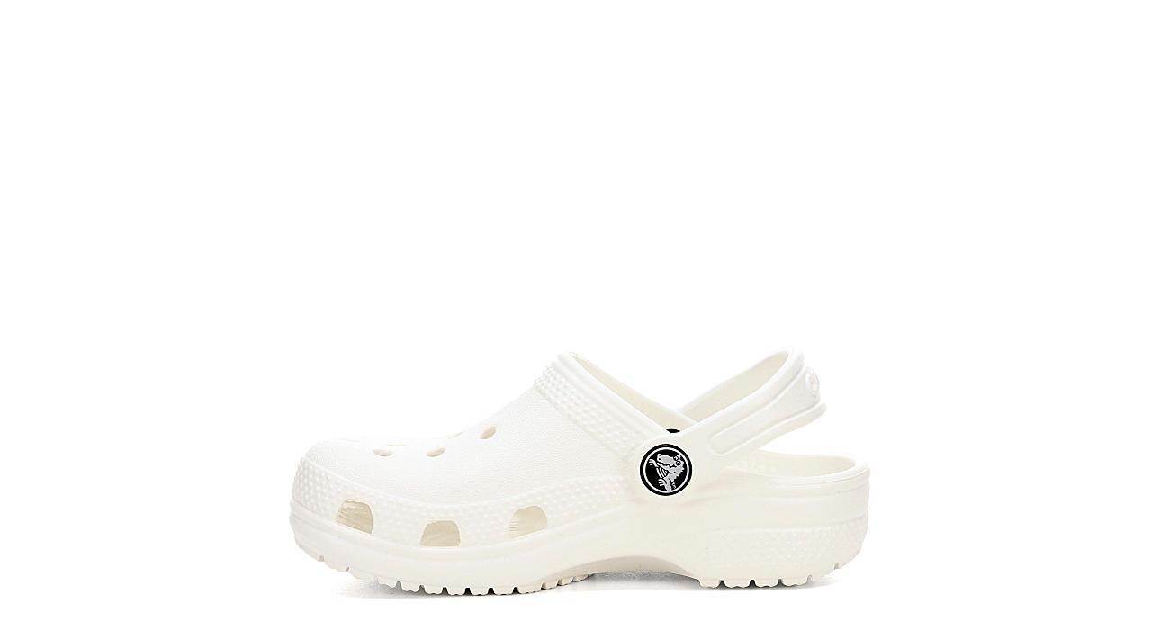 fbf461366c12 Crocs Girls Infant Classic Clog - White
