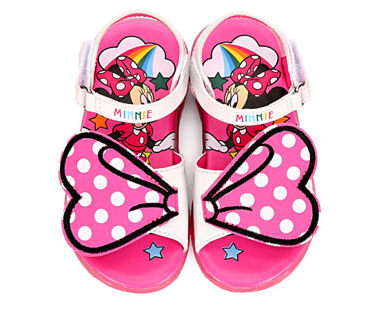 Girls Infant Minnie Mouse Bow Sandal