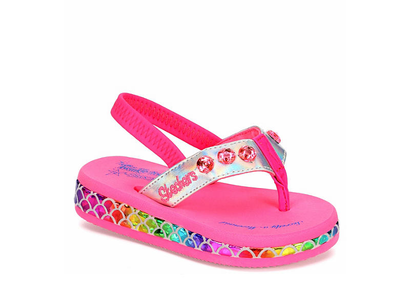 PINK SKECHERS Girls Sunshines Mermaid Dreams