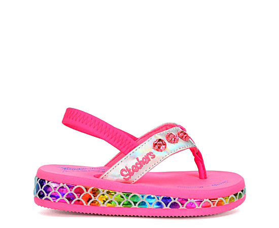 Girls Infant Sunshines - Mermaid Dreams Flip Flop Sandal