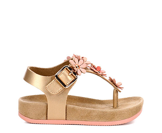 Girls Infant Della Footbed Sandal