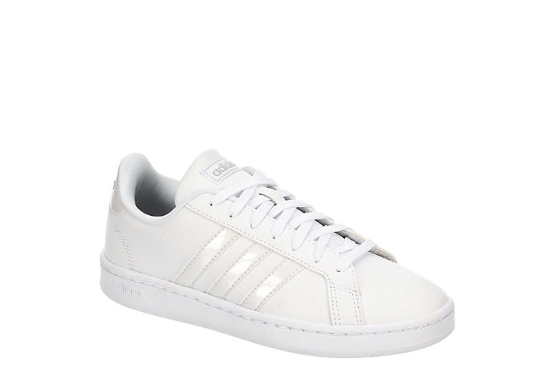WHITE ADIDAS Womens Grand Court