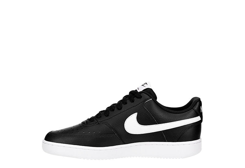 NIKE Womens Court Vision Low - BLACK