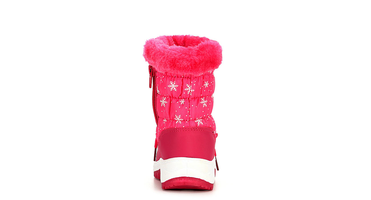 HIGHLAND CREEK Girls Infant Val Snow Boot - PINK