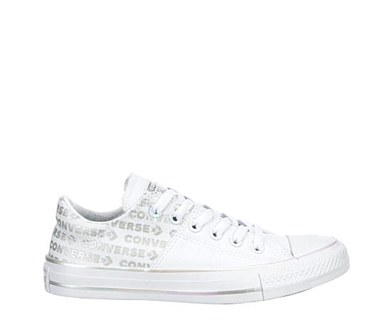 Womens Chuck Taylor All Star Madison Iridescent Wordmark