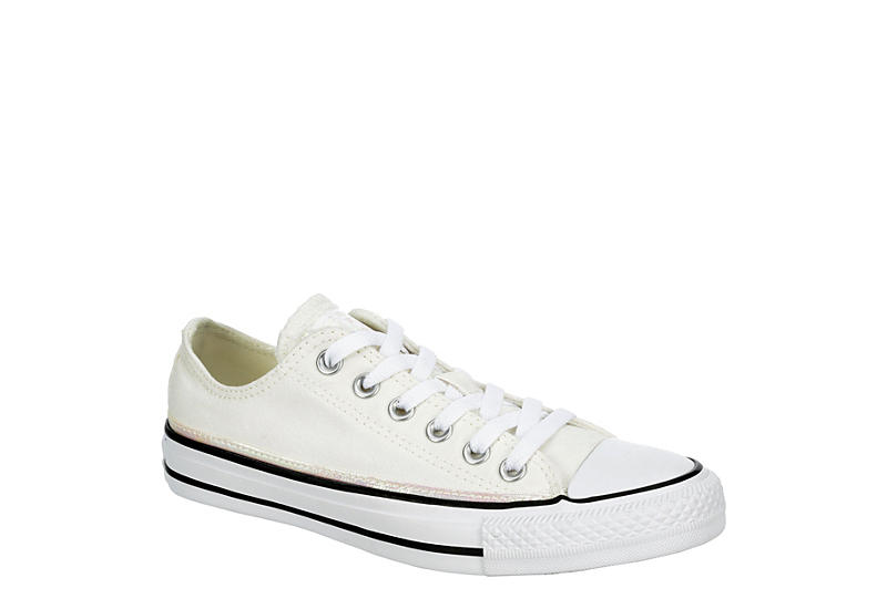 CONVERSE Womens Chuck Taylor All Star Low Top Sneaker - WHITE