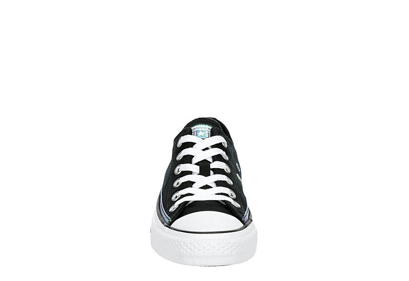 CONVERSE Womens Chuck Taylor All Star Low Top Sneaker - BLACK