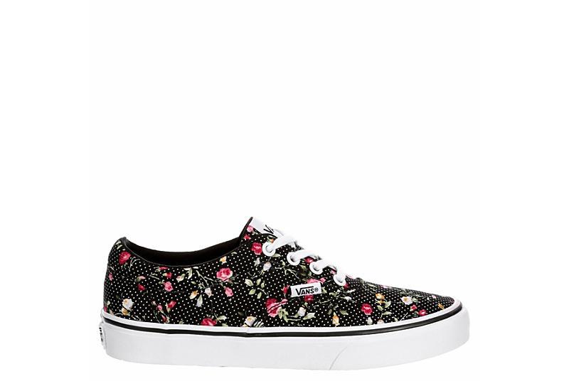 VANS Womens Doheny Sneaker - BLACK