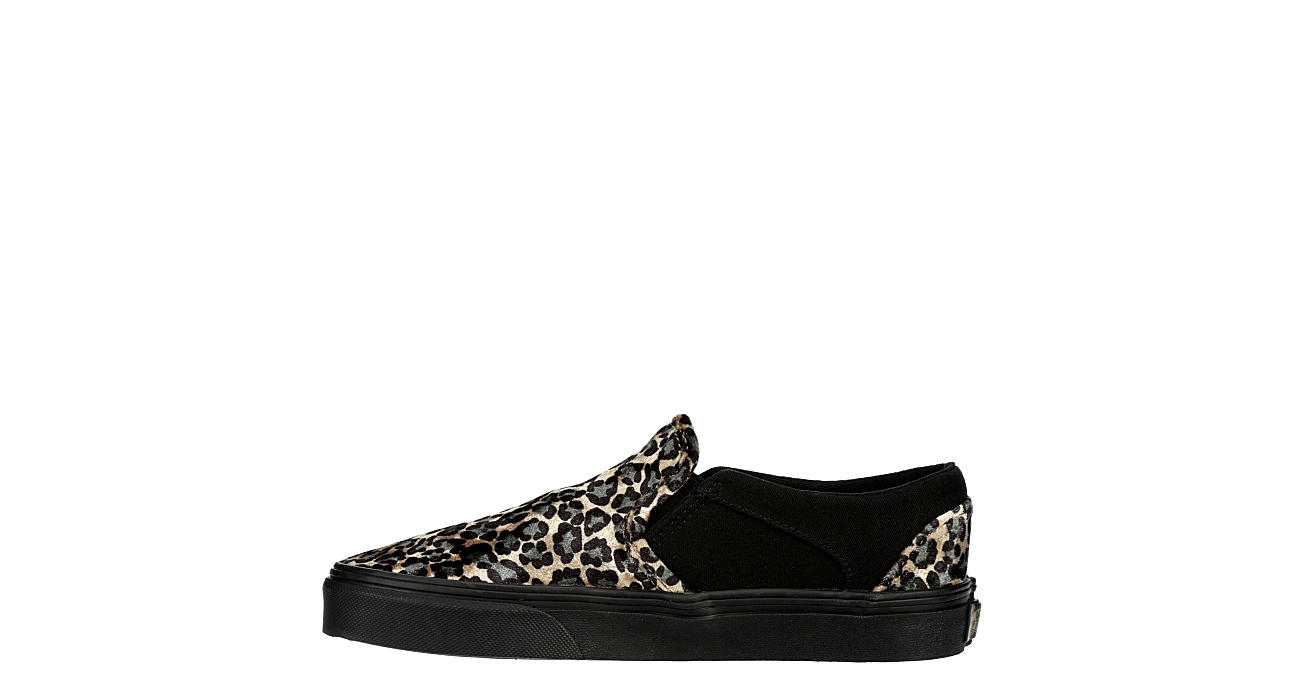VANS Womens Asher Slip-on - BLACK