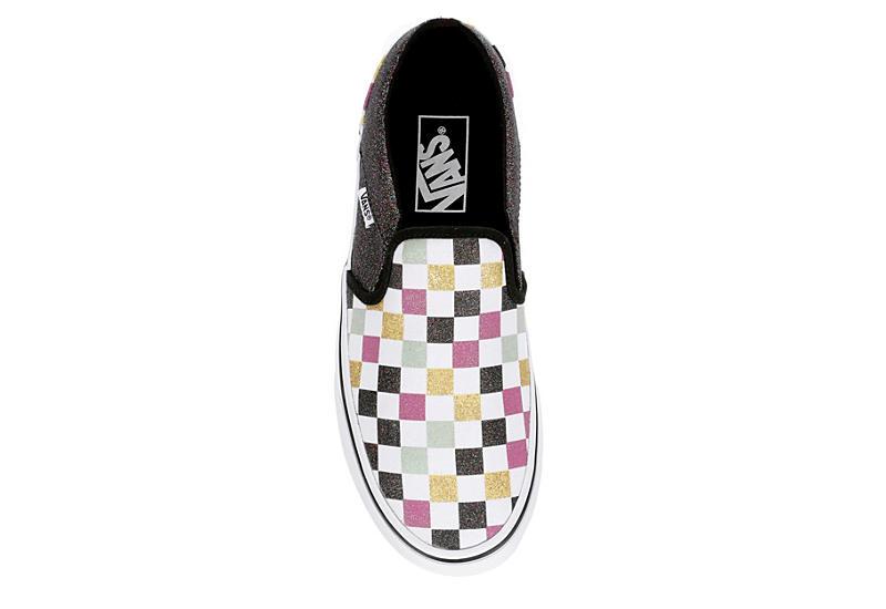 VANS Womens Asher Slip On Sneaker - MULTICOLOR