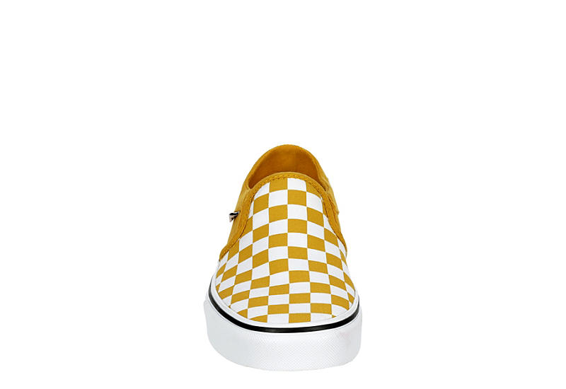 VANS Womens Asher Slip On Sneaker - GOLD