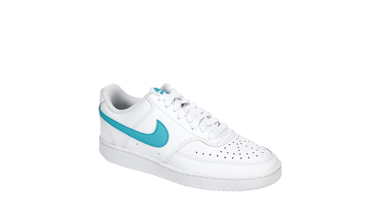 NIKE Womens Court Vision Low Sneaker - WHITE