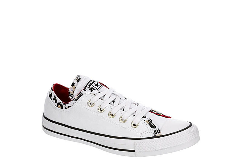 CONVERSE Womens Chuck Taylor All Star Double Upper - LEOPARD