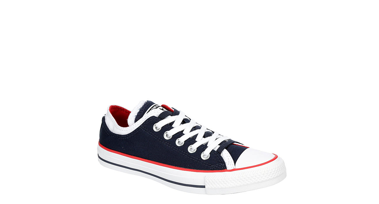 CONVERSE Womens Chuck Taylor All Star Double Upper Sneaker - NAVY
