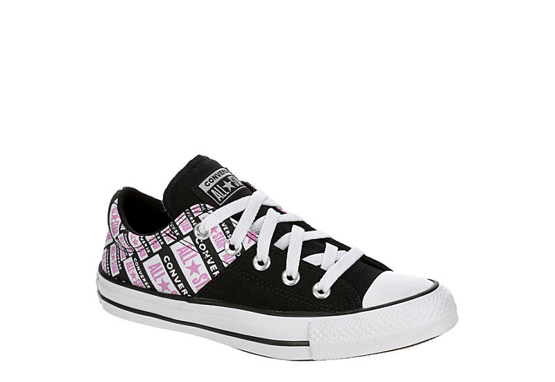 Perth frase Superioridad  Black Converse Womens Chuck Taylor All Star Madison Low Top Sneaker |  Athletic | Rack Room Shoes