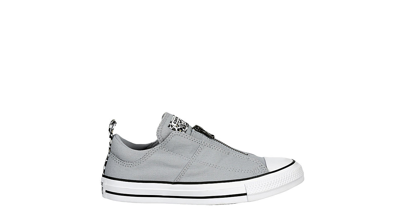 CONVERSE Womens Chuck Taylor All Star Madison Zip Sneaker - GREY