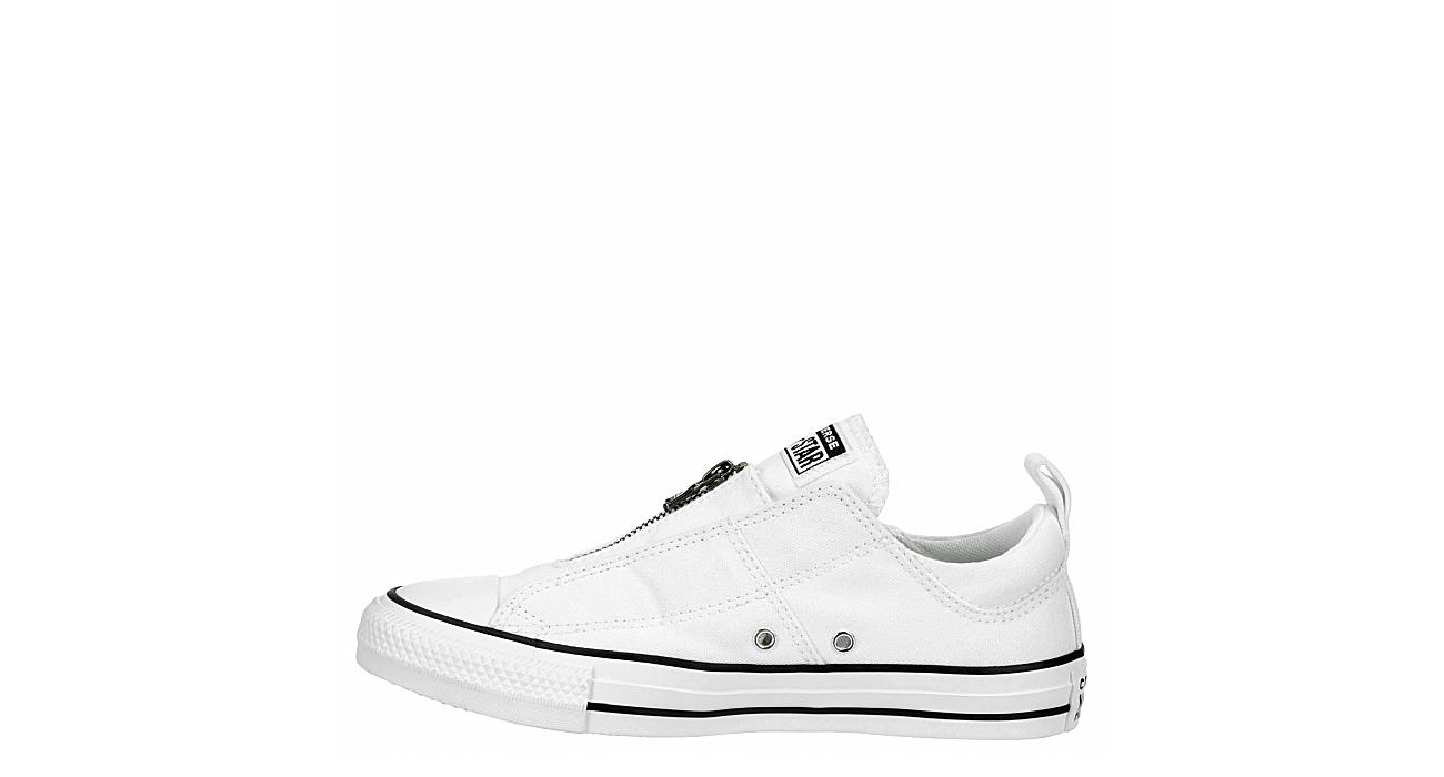 CONVERSE Womens Chuck Taylor All Star Madison Zip Sneaker - WHITE