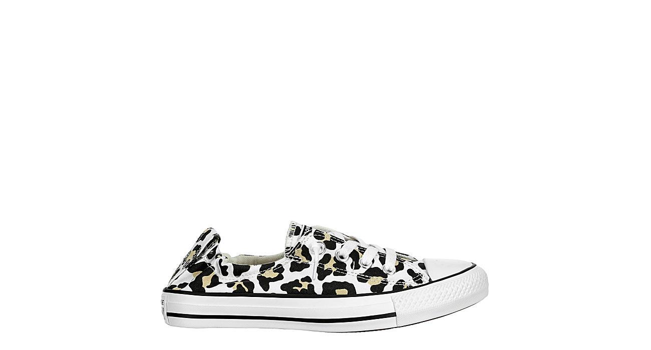 Converse Womens Chuck Taylor Animal Print Sneaker Black