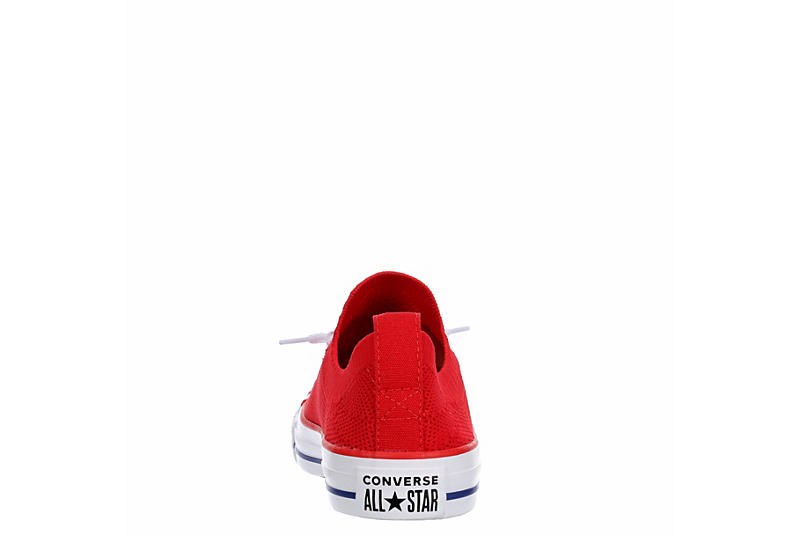 CONVERSE Womens Chuck Taylor All Star Shoreline Knit Sneaker - RED