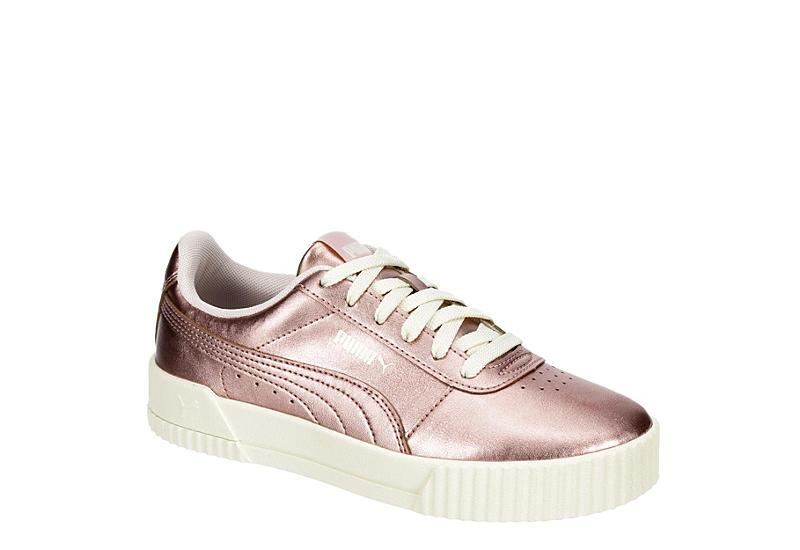 ROSE GOLD PUMA Womens Carina Sneaker