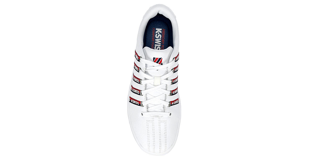 K-SWISS Womens Court Pro Ii Tape Cmf - WHITE