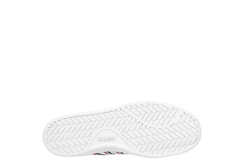 K-SWISS Womens Court Pro Ii Tape Cmf Sneaker - WHITE