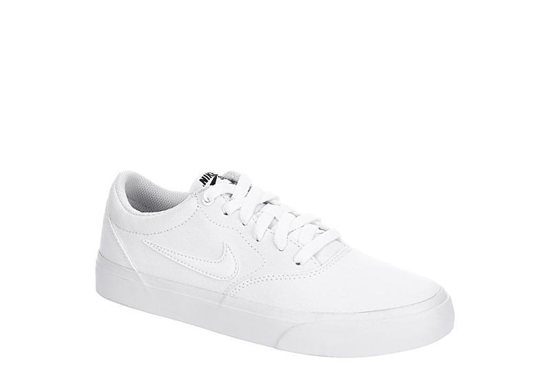WHITE NIKE Womens Sb Charge Sneaker