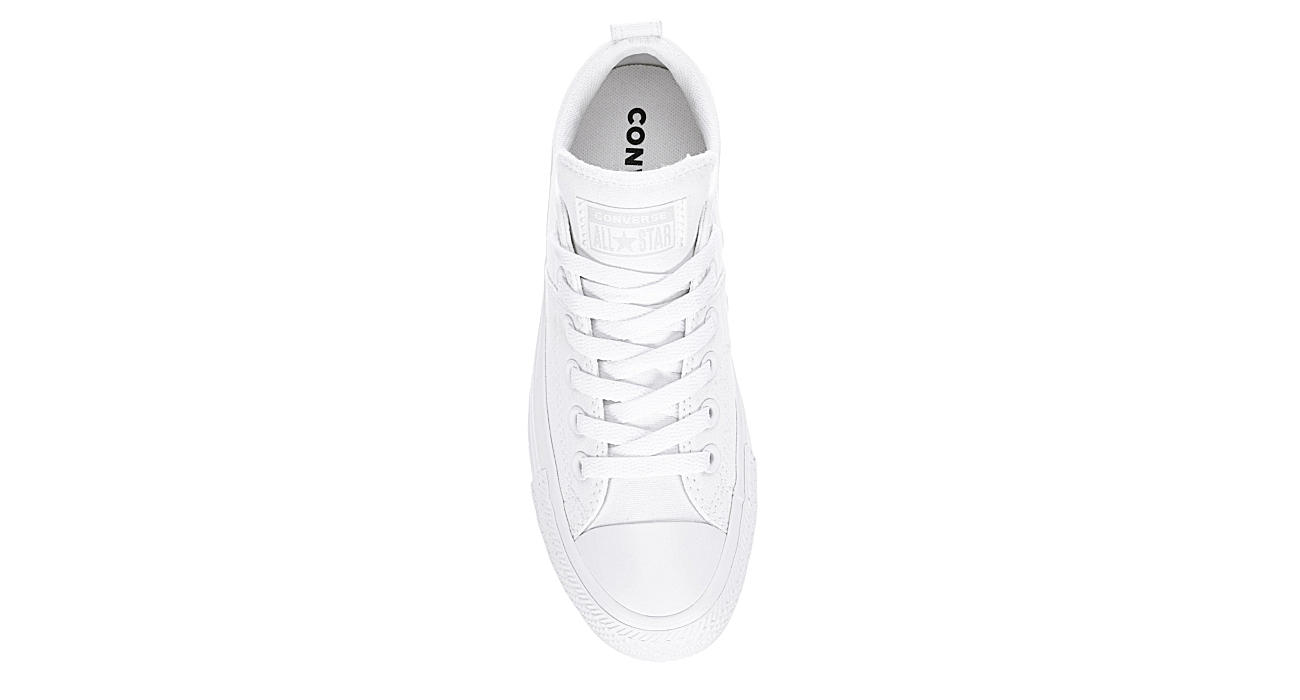 CONVERSE Womens Chuck Taylor All Star Madison Low Top Sneaker - WHITE