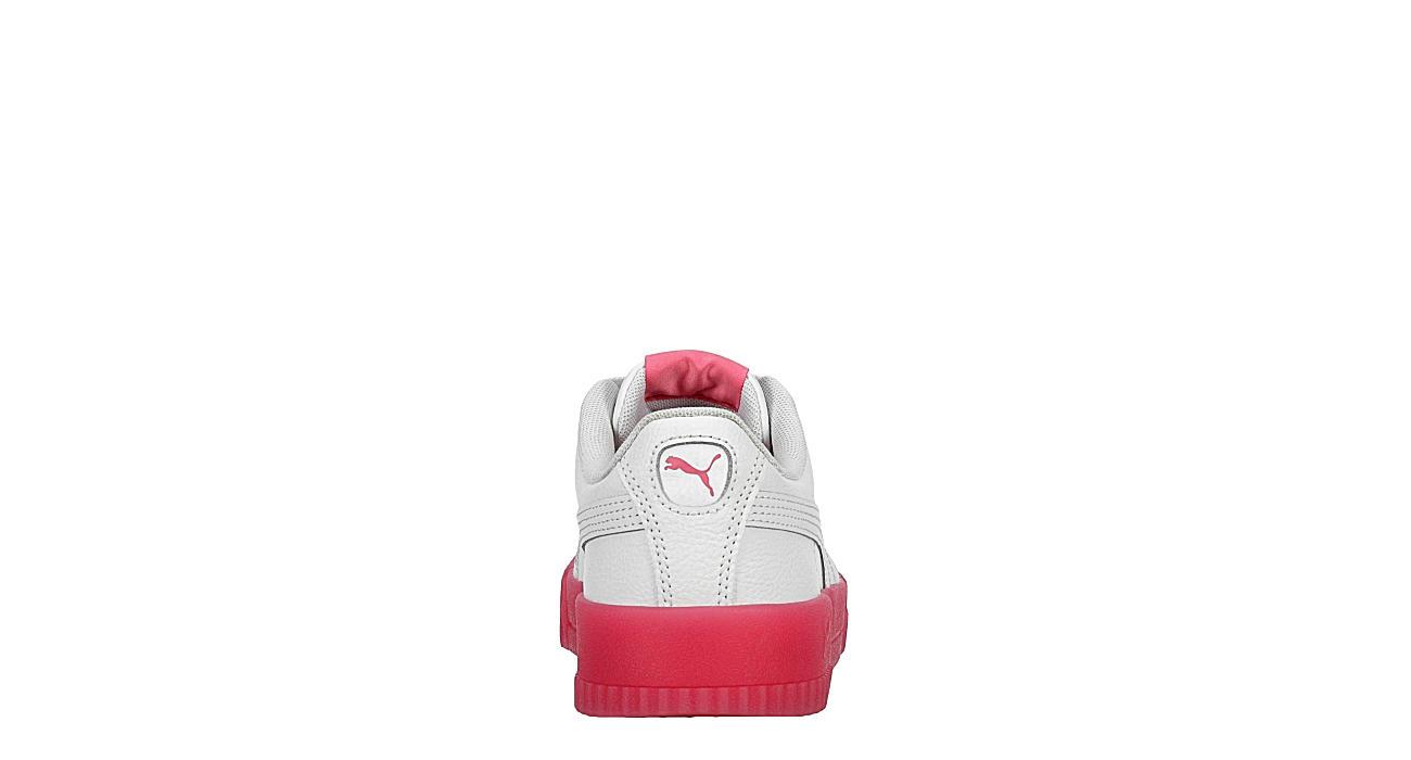 PUMA Womens Carina Sneaker - WHITE