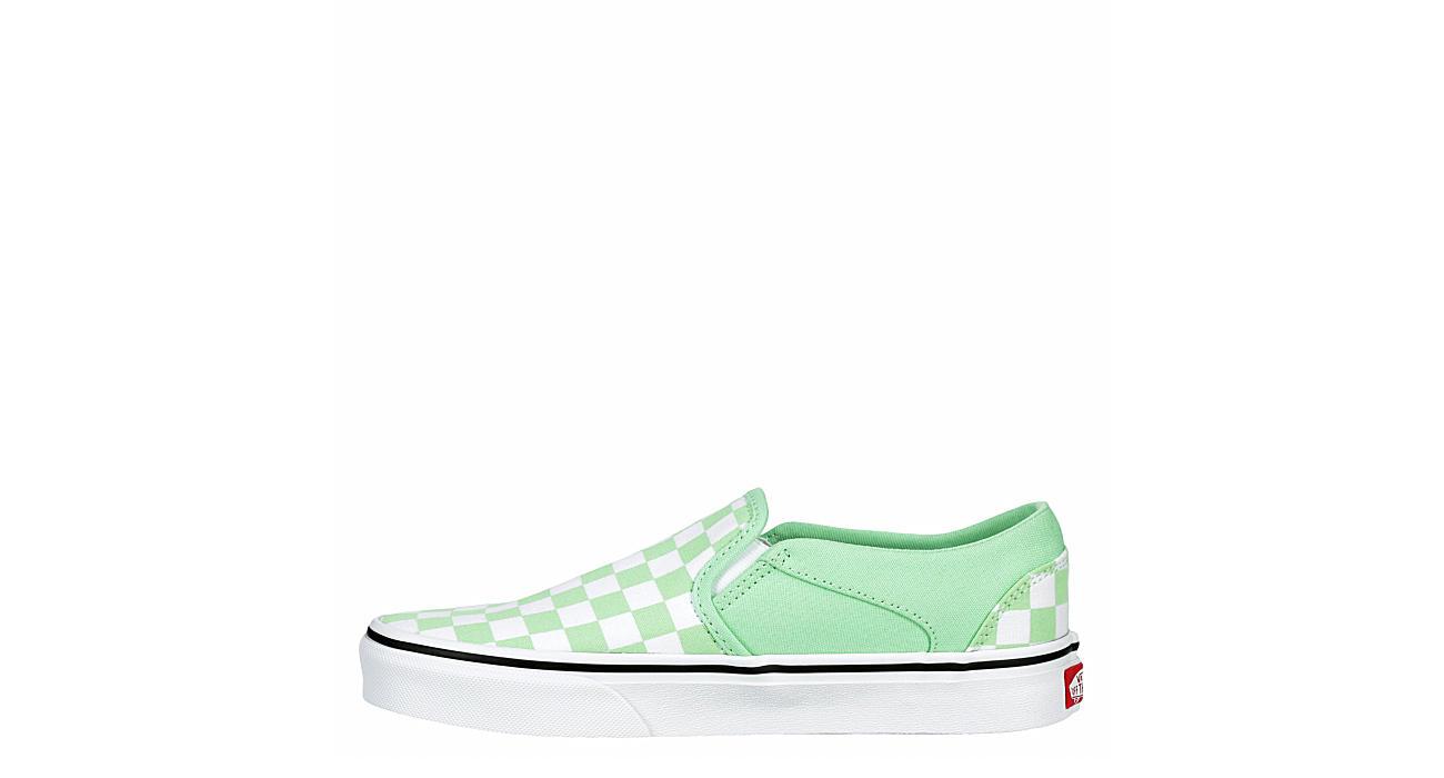 VANS Womens Asher Slip-on - GREEN