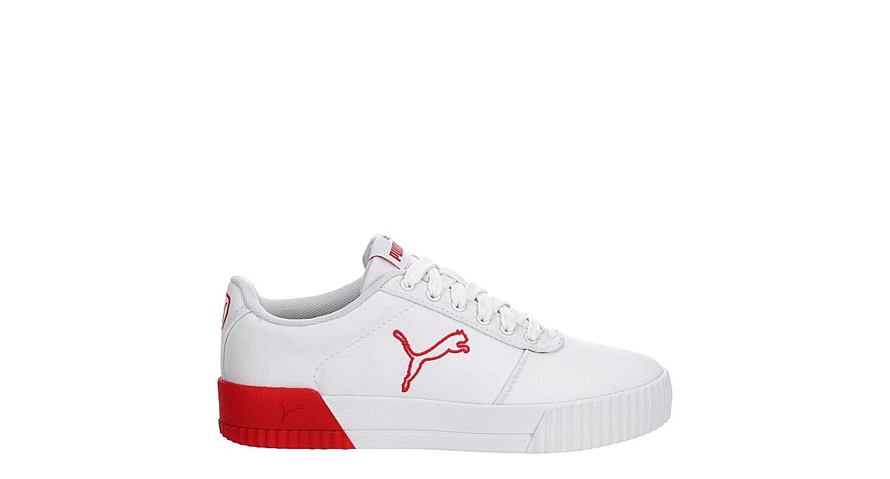 PUMA Womens Carina Summer Cat Sneaker - WHITE