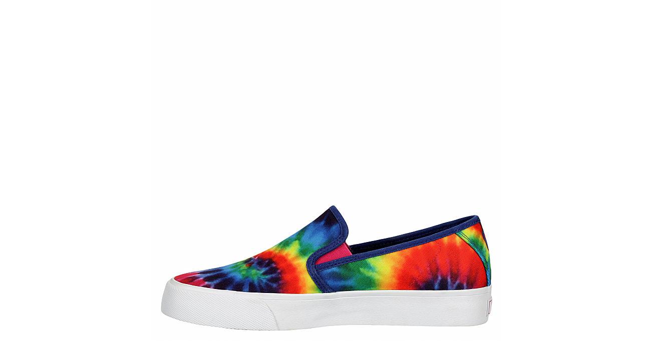 PUMA Womens Bari Slip On Sneaker - TIE-DYE