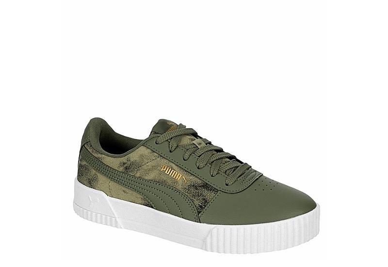 OLIVE PUMA Womens Carina Sneaker